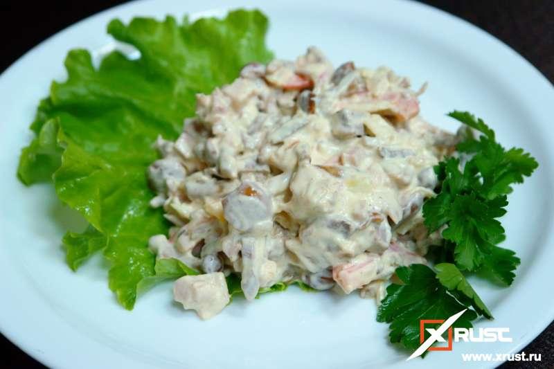 Вкусный салат не только без вреда, но и с пользой для фигуры
