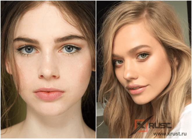 Модный макияж «без макияжа» весна-лето 2021