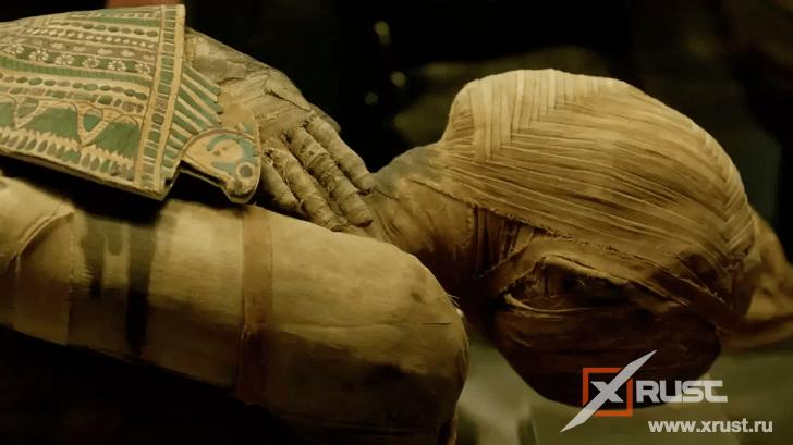 Впервые обнаружили мумию беременной женщины
