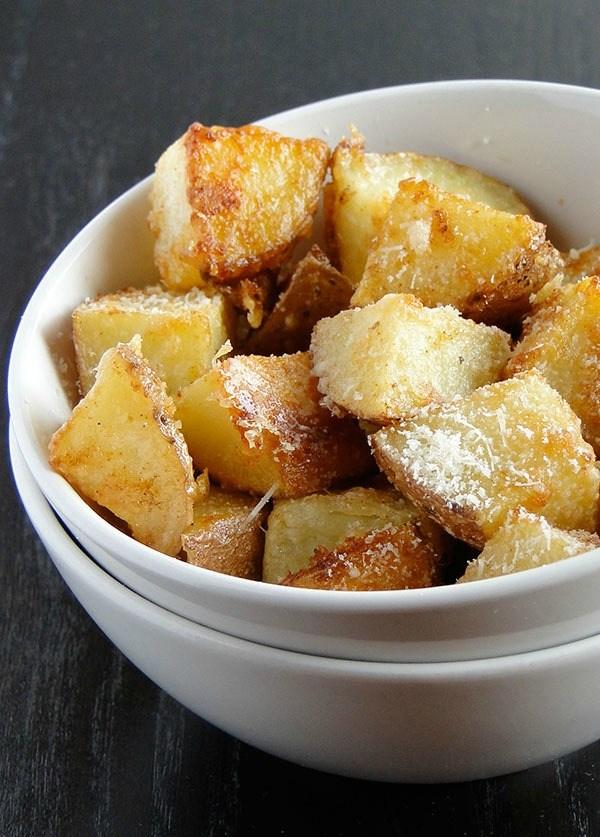 Ψητές Πατάτες Παρμεζάνας