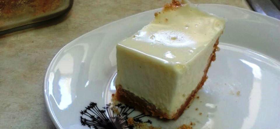 Καταπληκτικό cheesecake με 3 συστατικά
