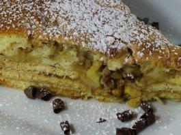 Κέικ με Μήλα και Μπισκότα