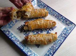 Πικάντικα μπουρέκια πατάτας