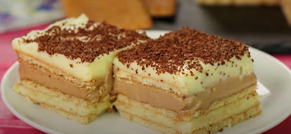 Γλυκό ψυγείου με μόκκα σοκολάτας