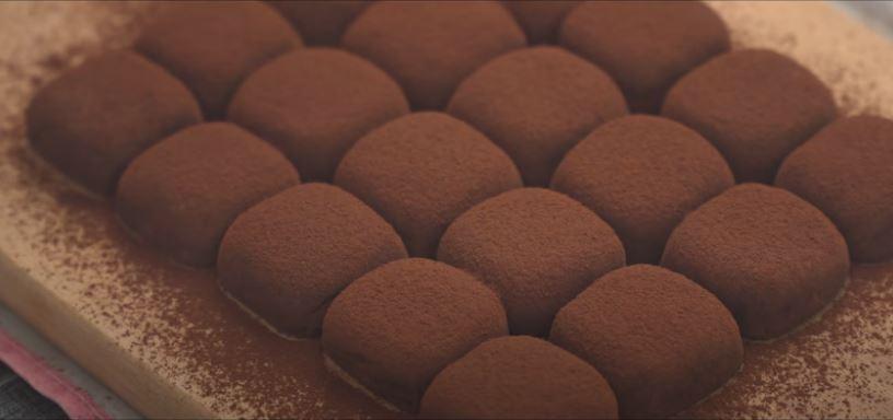 τρουφακια σοκολάτας