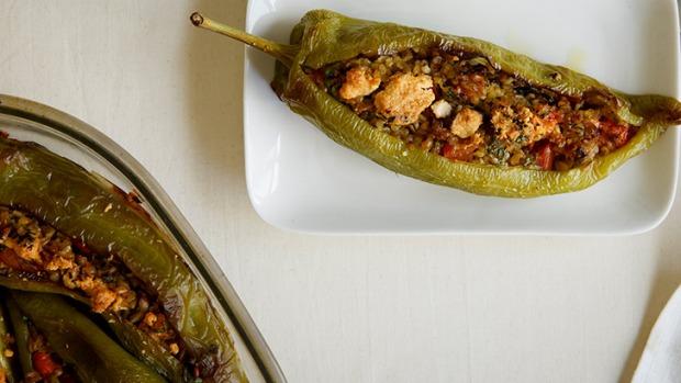 Πιπεριές Γεμιστές φούρνου