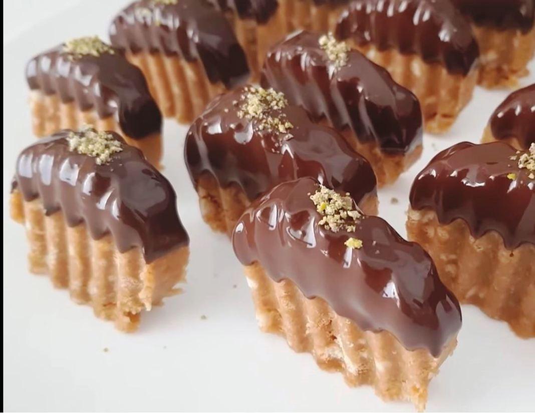 Φονταν σοκολάτας χωρίς ψήσιμο