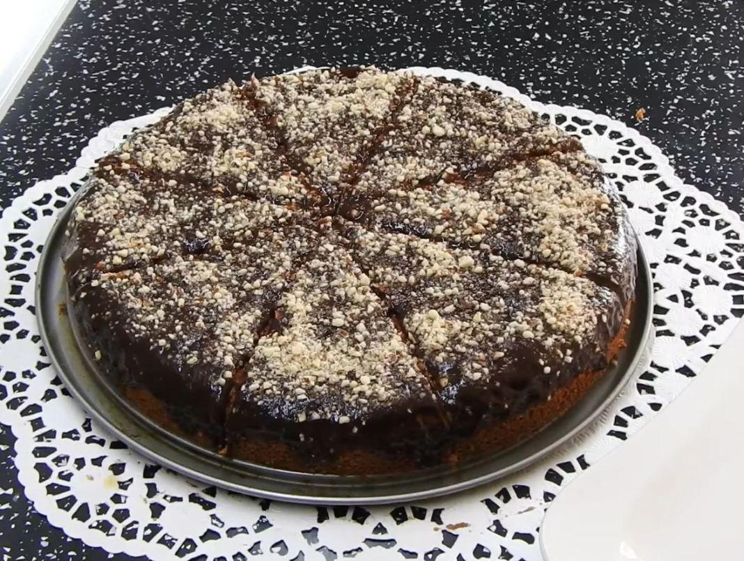 Κέικ χωρις λάδι αλευρι γαλα
