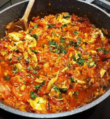 Πικάντικο Κοτόπουλο με λαχανικά