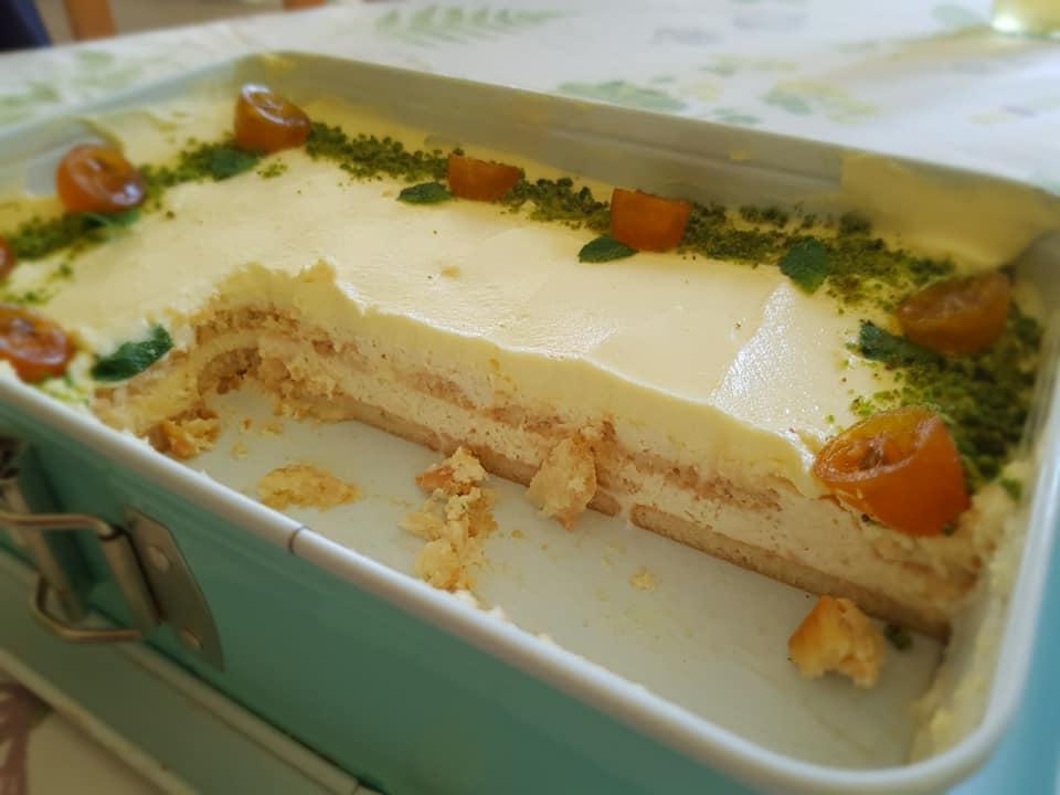 Κέικ λεμονιού χωρίς ψήσιμο