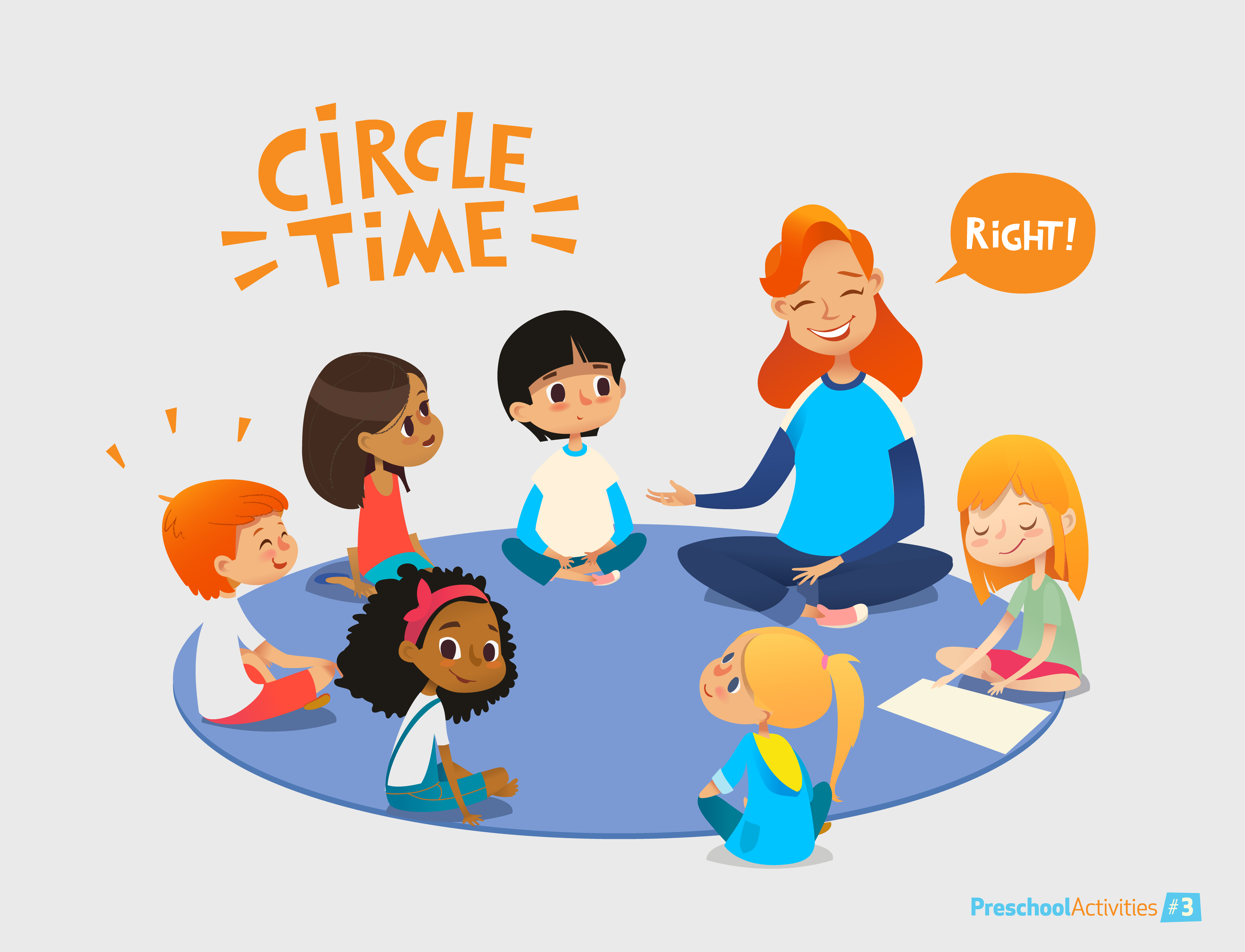 Communicating Effectively Through Circle Time For Young