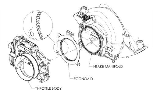 Airaid Econoaid Throttle Body Booster 99-06' Silverado