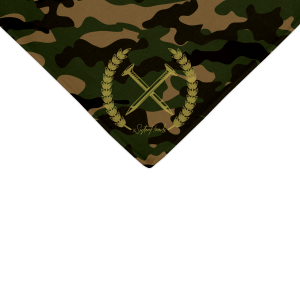 straight edge camo bandanna