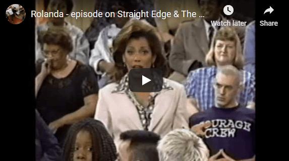 Rolanda – episode on Straight Edge & The Courage Crew