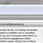 Windows Aufgabenplaner eine neue Aufgabe erstellen