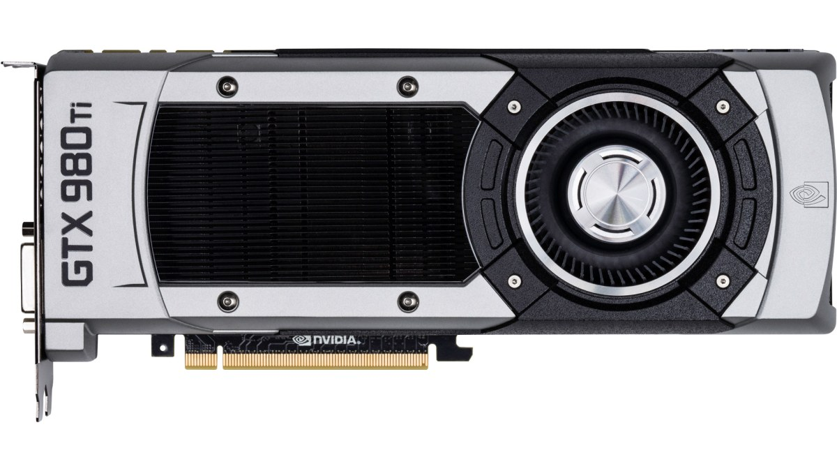 The Nvidia GTX 980 TI: the graphics card you *really* want.