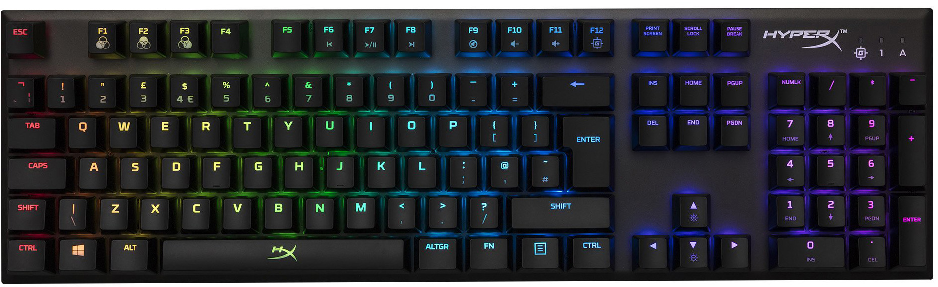 ef864c51f7a The layout is also completely standard, with ISO (UK, Europe) and ANSI (US,  China) variants available. That means you can pick up after-market keycap  sets ...