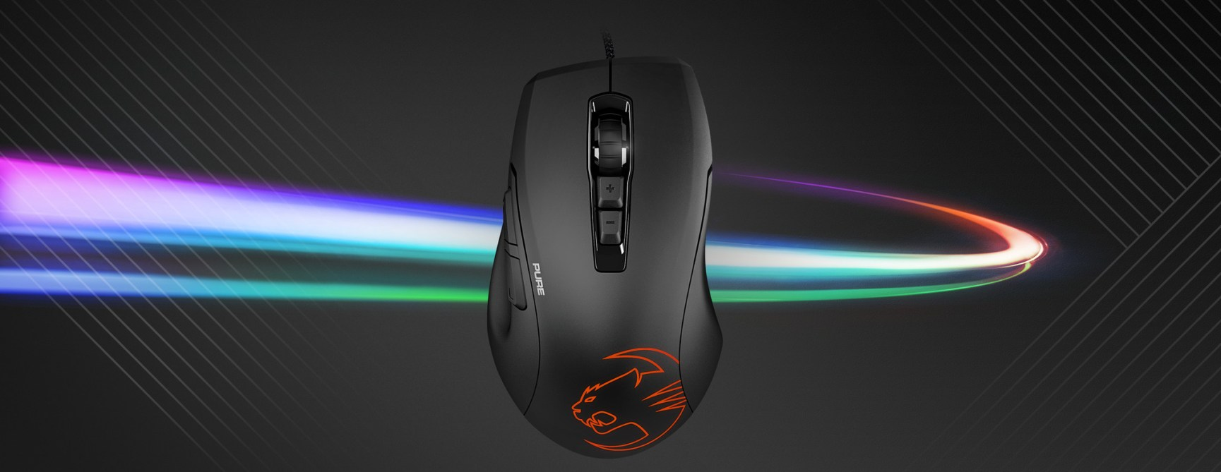 0b6e38d08ca Roccat Kone Pure Owl-Eye review: light and affordable - Review ...