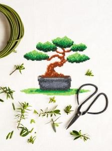 PixlStitch's Bonsai design from Issue 4
