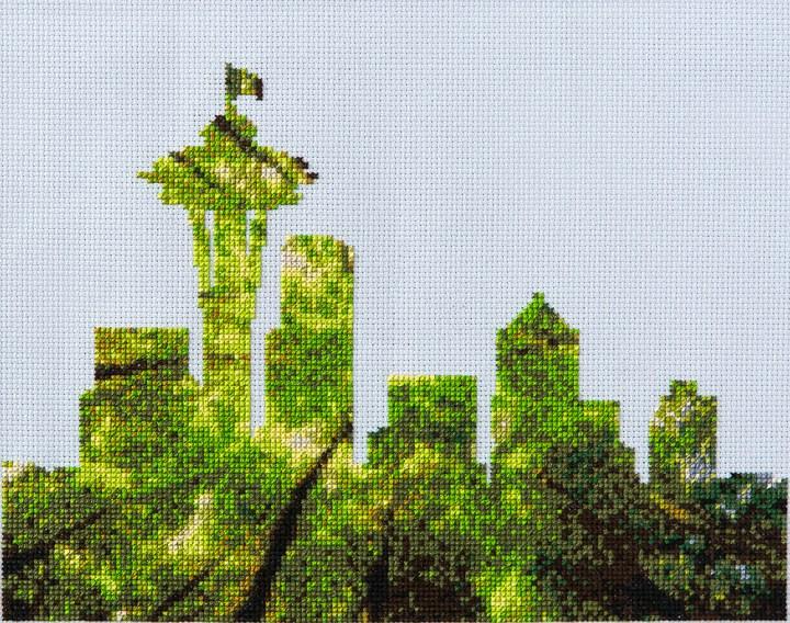 StitchDotCom's Seattle design from Issue 4
