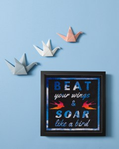 StitchDotCom's Beat Your Wings design from Issue 2