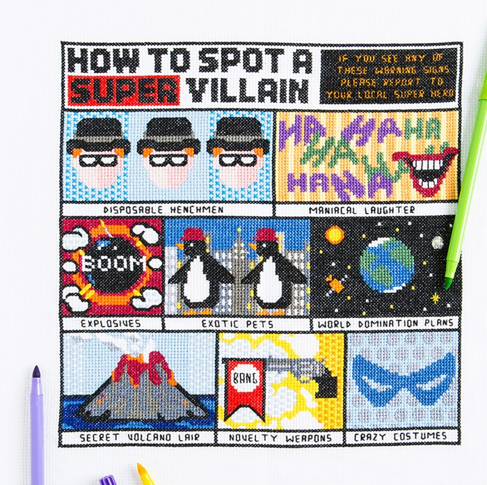 PyroDogPins - How To Spot A SuperVillain