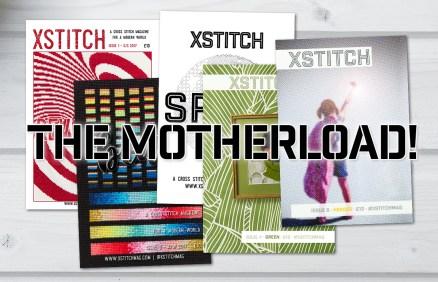 XStitch Magazine Motherload Combo Package