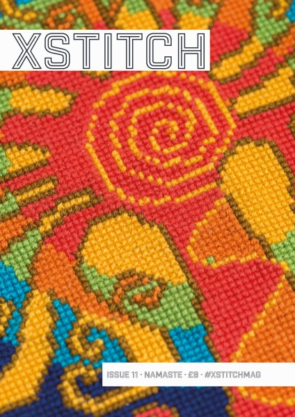 The cover of Issue 11 - Namaste