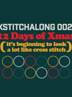 XStitchAlong 002: 12 Days of Xmas Cover