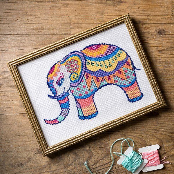 Sweet Annet - Painted Pachyderm of Peace