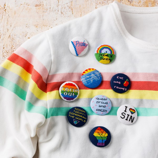 Tom Katsumi - LGBT Slogan Badges