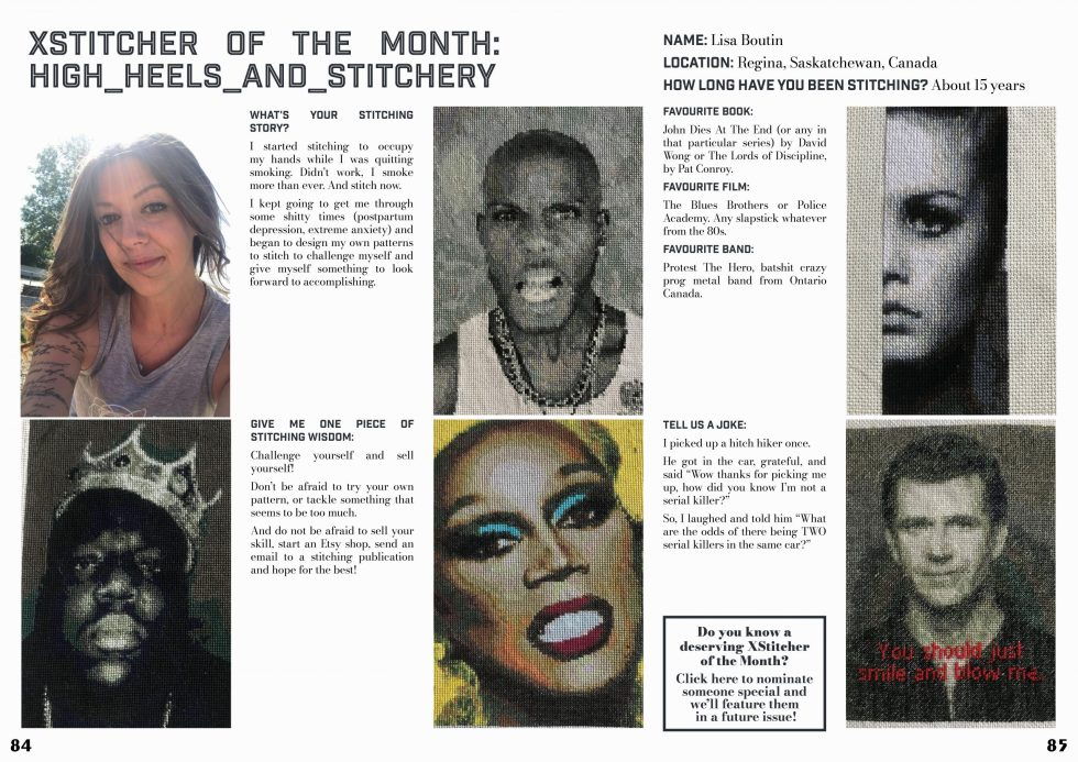 XStitcher of the Month article from Issue 9 - Orient