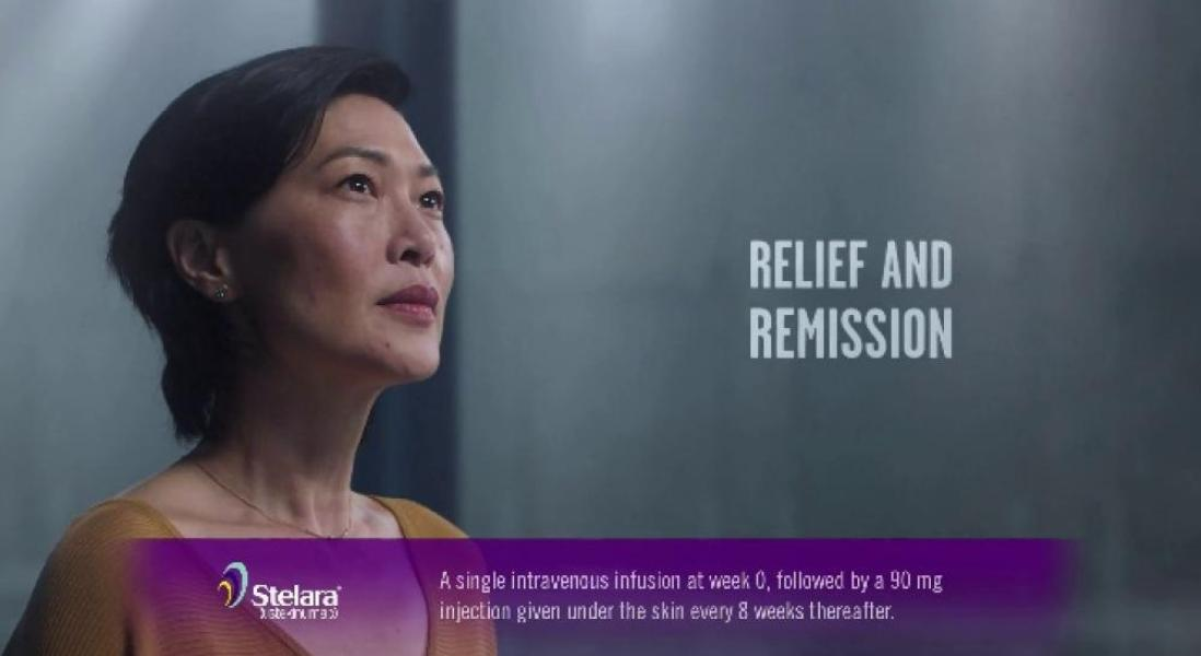 Johnson & Johnson Debuts New DTC Crohn's Disease Ad for Stelara