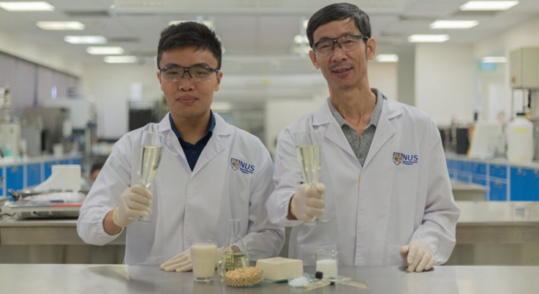 Researchers Invent Tofu Whey-Based Alcohol