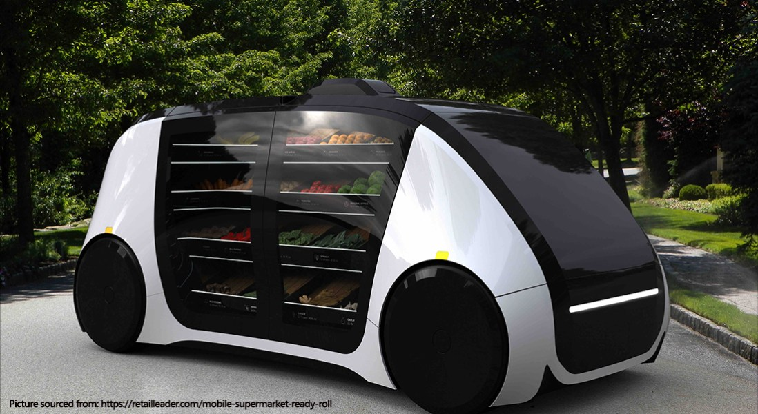 Automated Mobile Grocery Store Is Taking on E-Commerce Grocery Trends