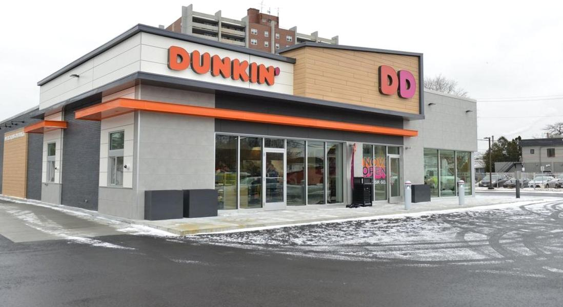 Dunkin Donuts to Introduce New Modern Concept Store Design