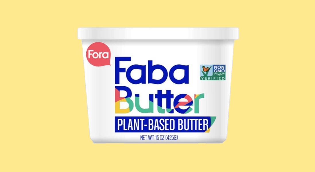 Fora Foods to Introduce Vegan Butter Made from Aquafaba