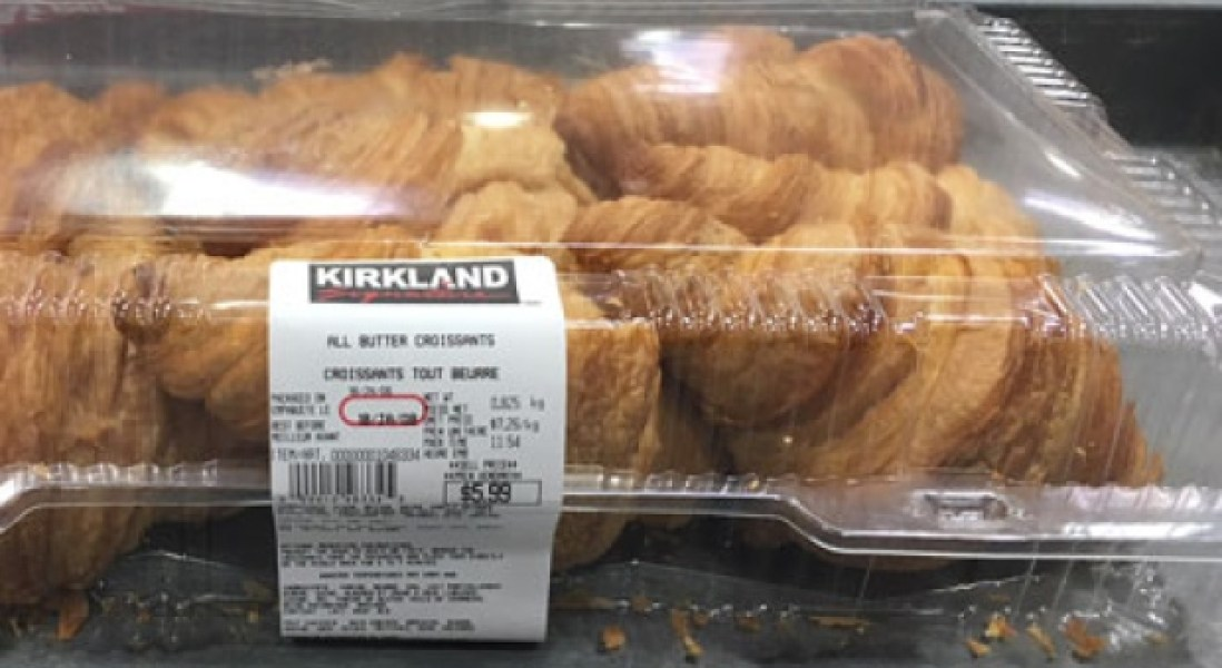 Canadian Costco Stores Recall Butter Croissants for Plastic Contamination