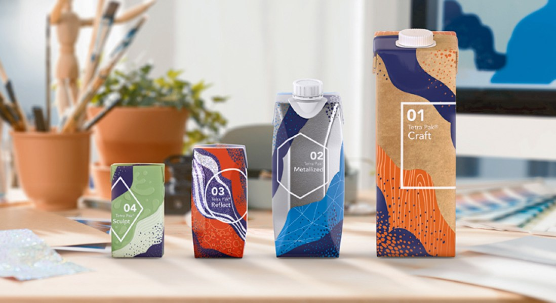 Tetra Pak Introduces Aesthetic Packaging Effects to Grab Consumer Attention
