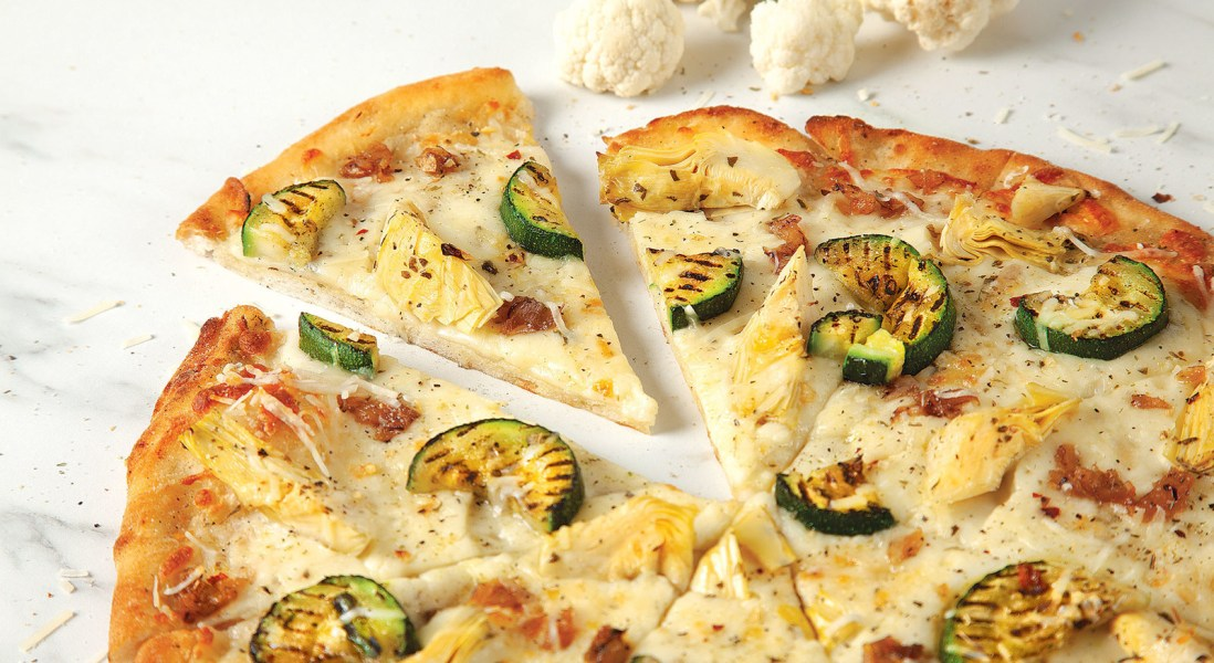 Pizza Pizza Joins Cauliflower Craze with New Cauliflower Crust Pizzas
