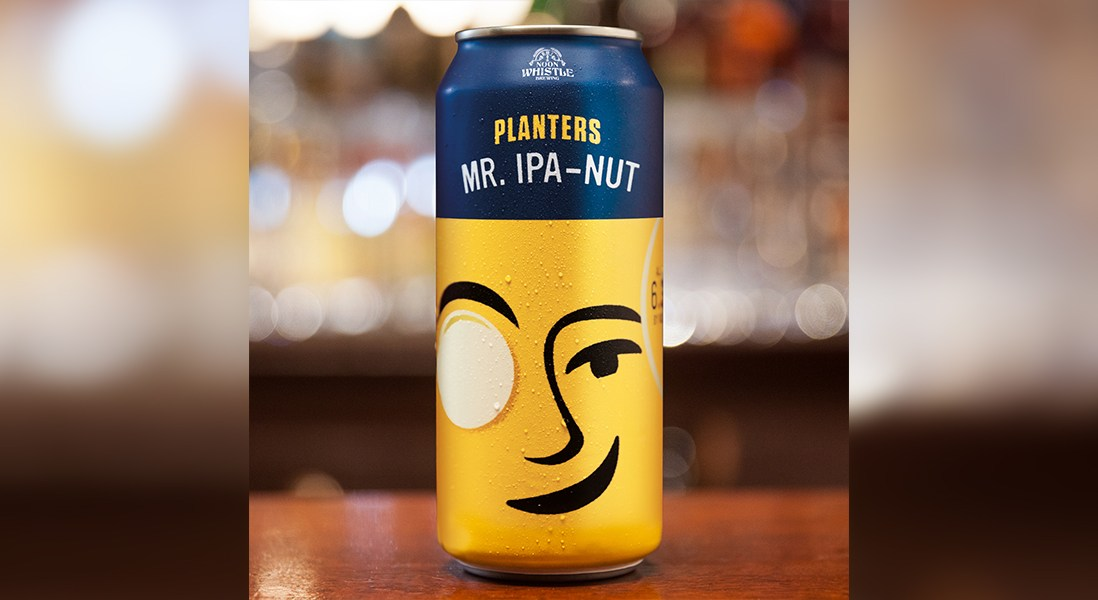 Planters Launches First Ever Peanut-Based Beer, Mr. IPA-Nut