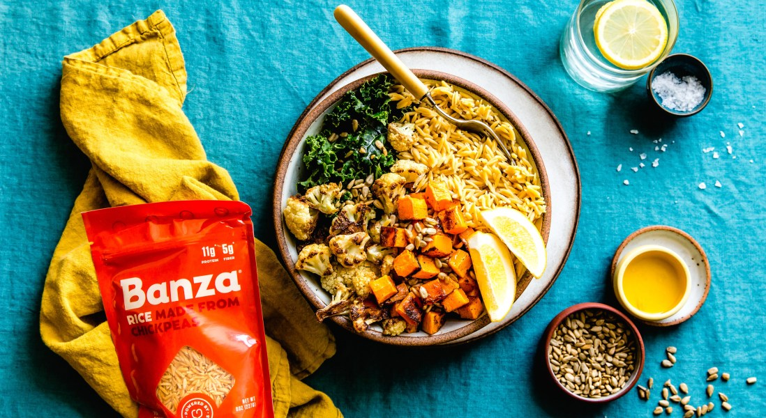 Banza Launches a New Line of Chickpea Rice
