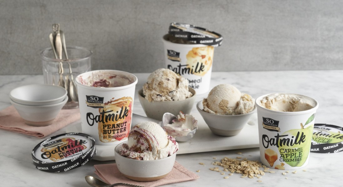 So Delicious Debuts Their First Ever Oatmilk Ice-Cream