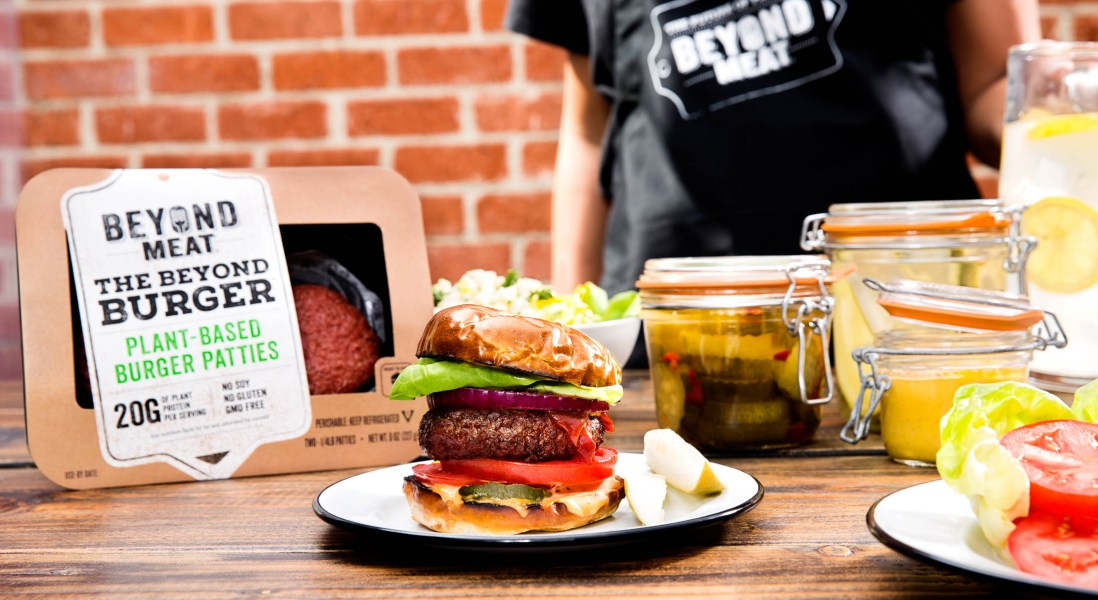 Beyond Meat Vegan Burgers to Hit Canadian Grocers for Grilling Season