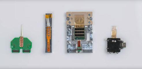 Neuralink prototypes. Image courtesy of Neuralink.