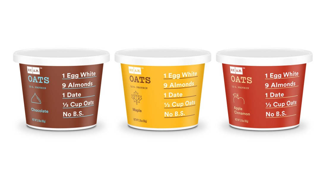 RXBAR Expands its Product Line Into Hot Cereal Market