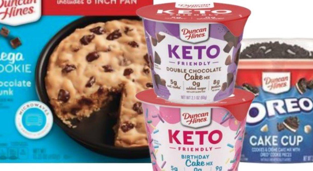 Duncan Hines Creates Keto-Friendly Cake Line