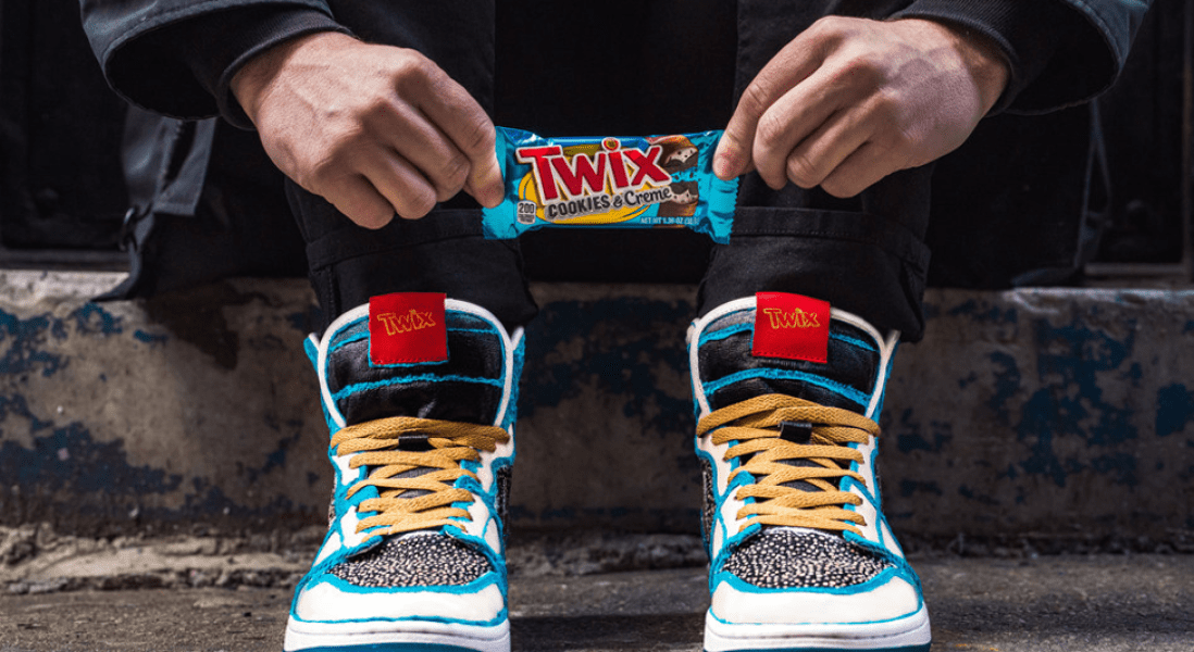 From Left and Right: Twix to Introduce Limited Edition Left and Right Sneakers