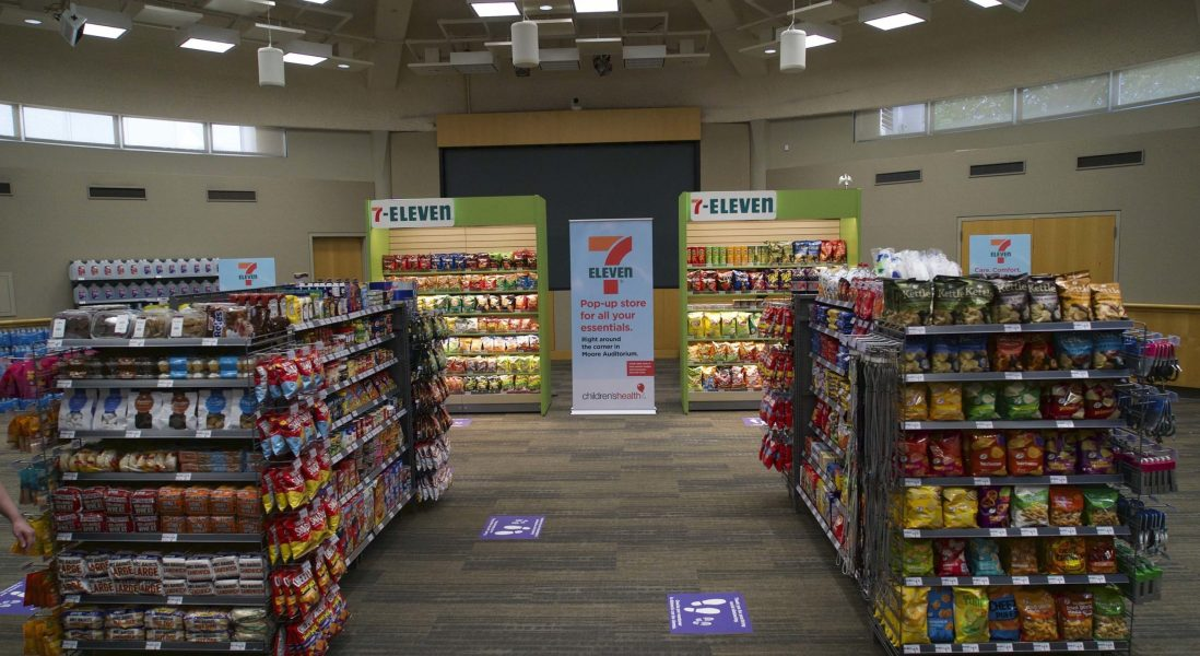 7-Eleven Open Their First Pop-Up Supporting Healthcare Workers