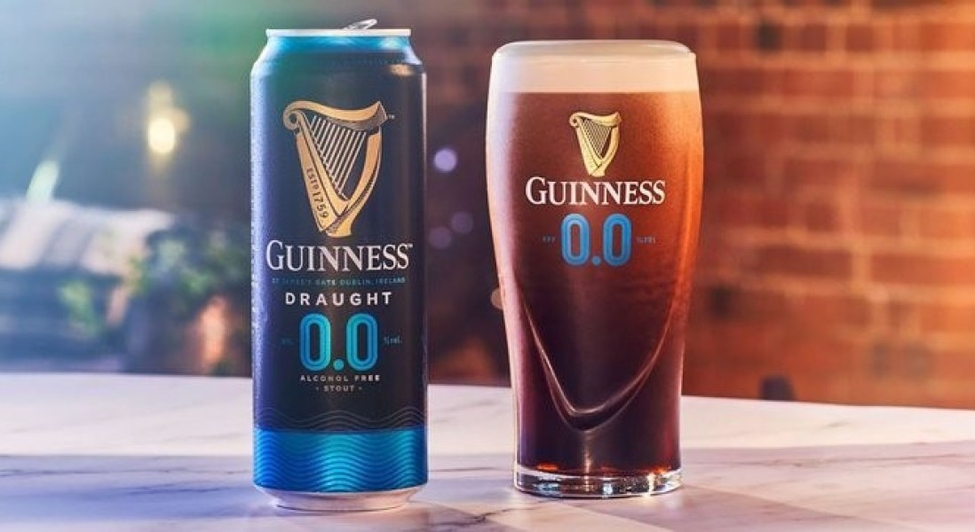 Guinness Launches a Non-Alcoholic Version of its Popular Stout